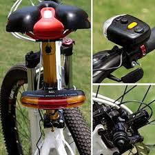 SKIPPY <b>LED Bicycle Bike Turn Signal</b> Directional Brake Light Lamp ...