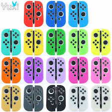 <b>YuXi 2pcs</b> Silicone <b>Analog Stick</b> Grips Cover for PlayStation 4 3 PS4 ...
