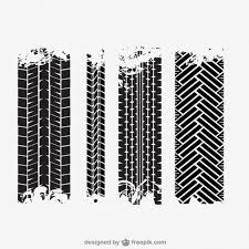 Premium Vector   <b>Tire tracks</b>
