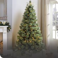 <b>Artificial</b>, Snow, Prelit <b>Christmas Trees</b> | The Range