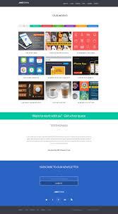 responsive website psd templates graphicsfuel respy web portfolio preview