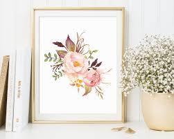 floral crest wall decor