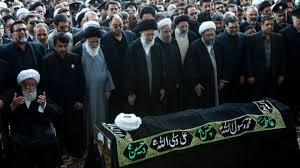 نتیجه تصویری برای تصاویر تشیع جنازه واعظ طبسی