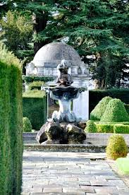 Small Picture Gardens designed by Capability Brown at Luton Hoo in Bedfordshire