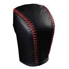Coolbestda Genuine Leather Hand Sewing Gear Shift ... - Amazon.com