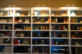 bookcase lighting swing arm lamps and bookcases on pinterest bookcase lighting ideas
