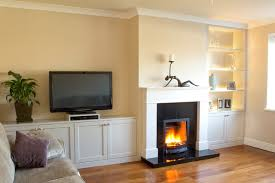 fitted sitting room units with built in led lights traditional living room built living room