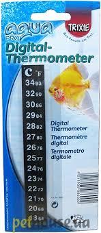 <b>Trixie Термометр</b> для аквариума, самоклеющийся аксессуары ...