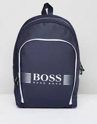 Темно-синий <b>рюкзак BOSS Pixel</b> | ASOS