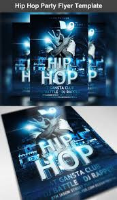 hip hop party flyer template com