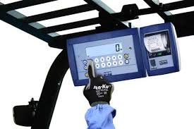 Image result for forklift digital weight gauges