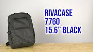 Распаковка <b>RIVACASE 7760 15.6</b> Black – Розетка Распаковка