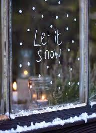 Decorazione Finestre Neve : Decorazioni di natale con gli stencil foto design mag