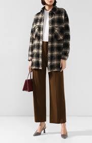 Хаки <b>женские брюки Deha</b> купить в интернет-магазине ЦУМ ...