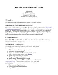 resume examples for executive secretary   cover letter exampleresume examples for executive secretary resume samples cover letters career advice executive secretary resume example