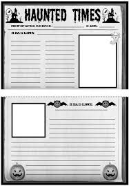english studentcentered resources and creative writing on pinterest haunted house template  halloween newspaper creative writing templates worksheets and lesson