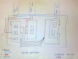 wiring diagram of ceiling fan light wirdig wiring harness wiring diagram how to wire a bathroom fan heater bathroom design ideas