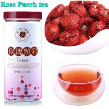 Free Shipping Rose Bud <b>Puerh tea</b> High Quality Chinese <b>Organic</b> ...