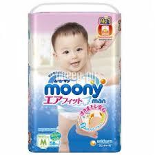 Купить <b>Moony Man Трусики</b> M 6-11кг 58шт 4903111184293 по ...