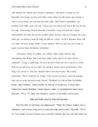 constructive living by david k reynolds  discussion essay   a examination discussion