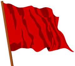 Image result for images for red flag