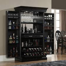 angelina black bar at home bar furniture
