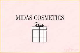 Midas Gift Card – Midas Cosmetics