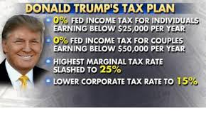 「trump about income tax」の画像検索結果