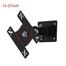 <b>14-27</b> inch 180 Degree Swivel Tilt LED LCD TV <b>Wall Mount</b> Bracket ...