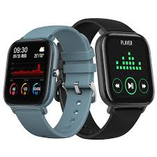 Bakeey P8 1.4<b>inch</b> Full Touch Screen Heart Rate BP BO2 Monitor ...