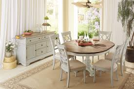 traditional dining chairs rustic table