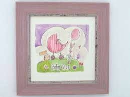 "Little Framed Print ""<b>baby girl</b>"" can be personalised | <b>Little Heart</b> Belfast"