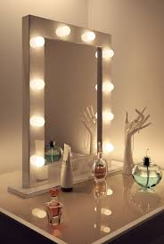 modern lighted mirror vanity make up table in white painted room wall charming makeup table charming makeup table mirror
