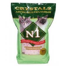 Силикагелевый <b>наполнитель</b> для кошачьего туалета <b>Crystals N1</b> ...