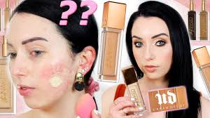 WORTH THE HYPE??! New <b>Urban Decay Stay</b> Naked Foundation ...