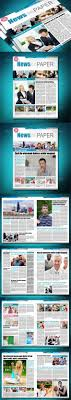 newspaper template by milana graphicriver newspaper template newsletters print templates