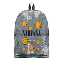 "Рюкзак 3D ""<b>Nirvana</b>"" #2795636 от weeert - <b>Printio</b>"