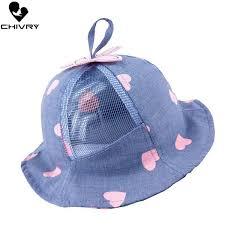 <b>2019 Chivry 2019</b> Baby Boys <b>Girls</b> Hat Cute Heart Summer Mesh ...