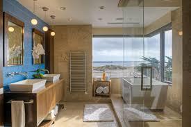 large size of bathroom lovely rectanguler white acrylic soaking bathtub stainless steel faucet ocean view bathroom pendant lighting ideas beige granite