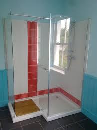layouts walk shower ideas: doorless walk in shower ideas layout house improvements best