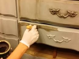diy how to dark wax chalk painted furniture chalk paint furniture