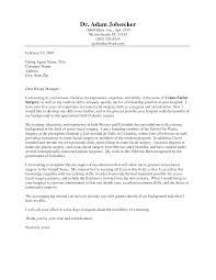 Interesting Sample Internship Application Letter And Fitness Or Cardiac Rehabilitation