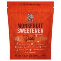 Lakanto <b>Sweetener</b>, <b>Monkfruit</b>, <b>Golden</b> (<b>30</b> each) - Instacart