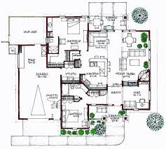 BUNGALOW  Green Home  Solar Home and Energy Efficiant House PlanView Reverse Floor Plan Image