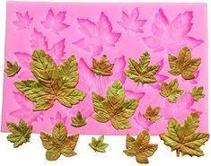 Efivs Arts DIY 3D Maple Leaf Parthenocissus ivy Shaped Silicone ...