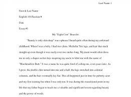 college entry essay sample automotive designer cover letter dish     Midland Autocare MLA Format Narrative Essay Example