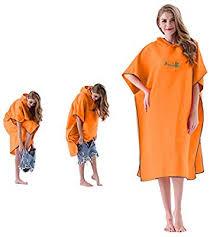 <b>Microfiber Surf</b> Poncho Beach Towel - <b>Wetsuit Changing Robe</b> ...