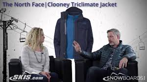 2015 the north face clooney triclimate mens jacket overview by skisdotcom and snowboardsdotcom youtube