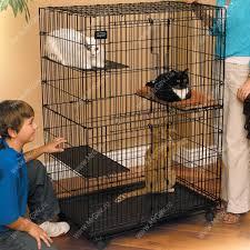 <b>Клетка Midwest Cat Playpens</b> 89,5 см*59 см*120,6 см - 2 двери ...