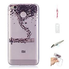 Case For Xiaomi Redmi 4X Pattern Back Cover <b>Solid Colored</b> Soft ...